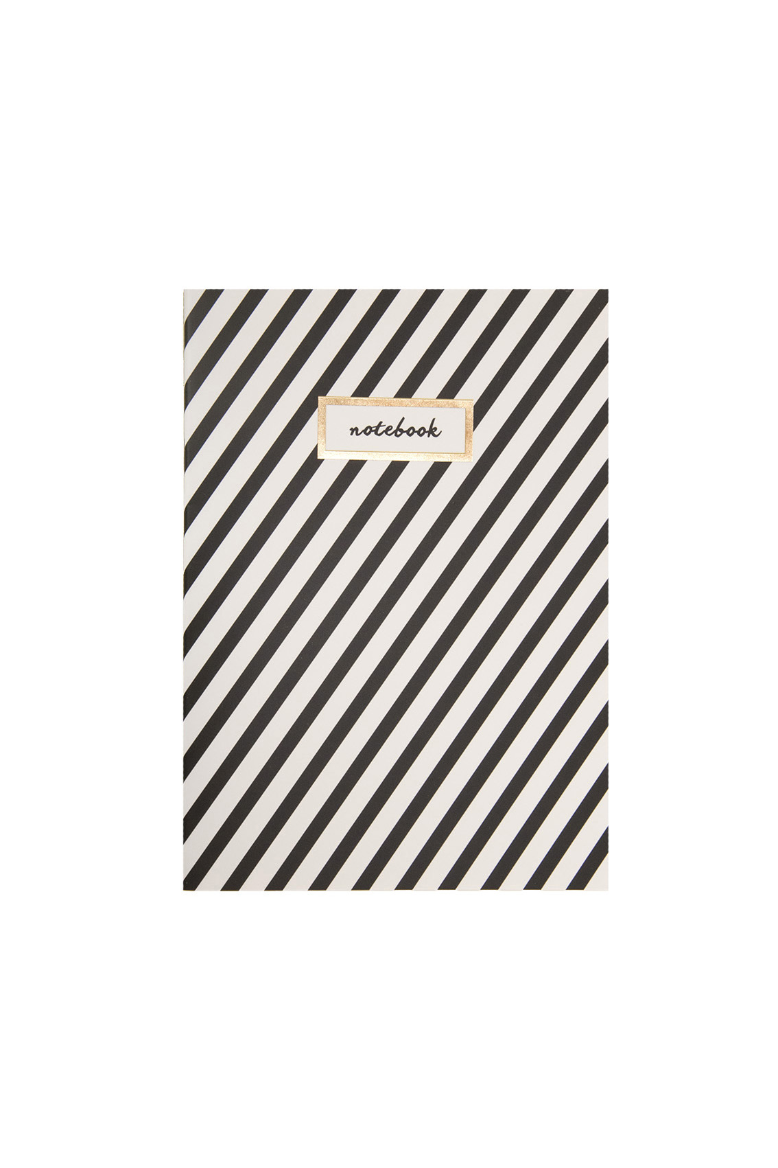A5 Gold Stripes // Notebook