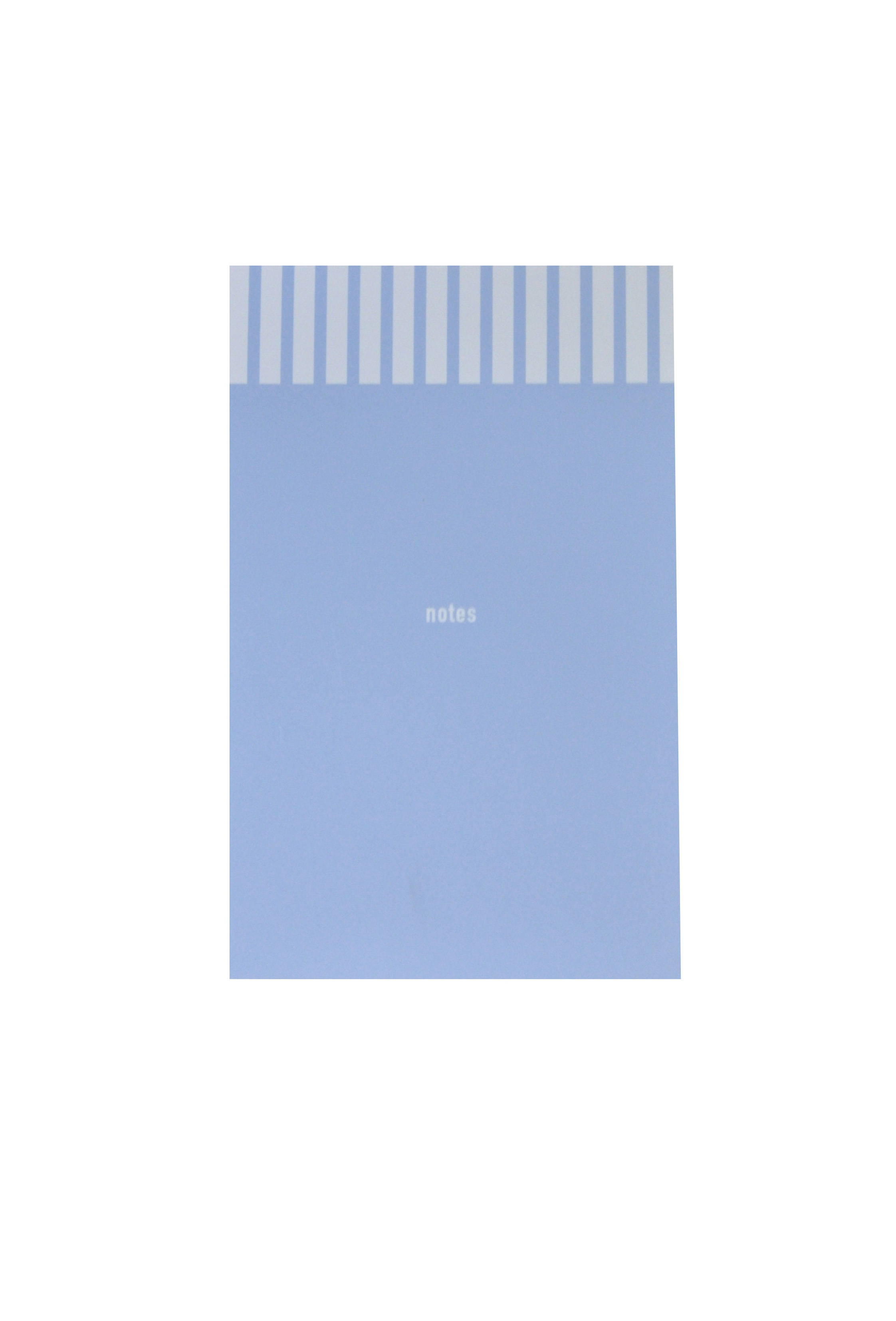 Baby Blue Notepad