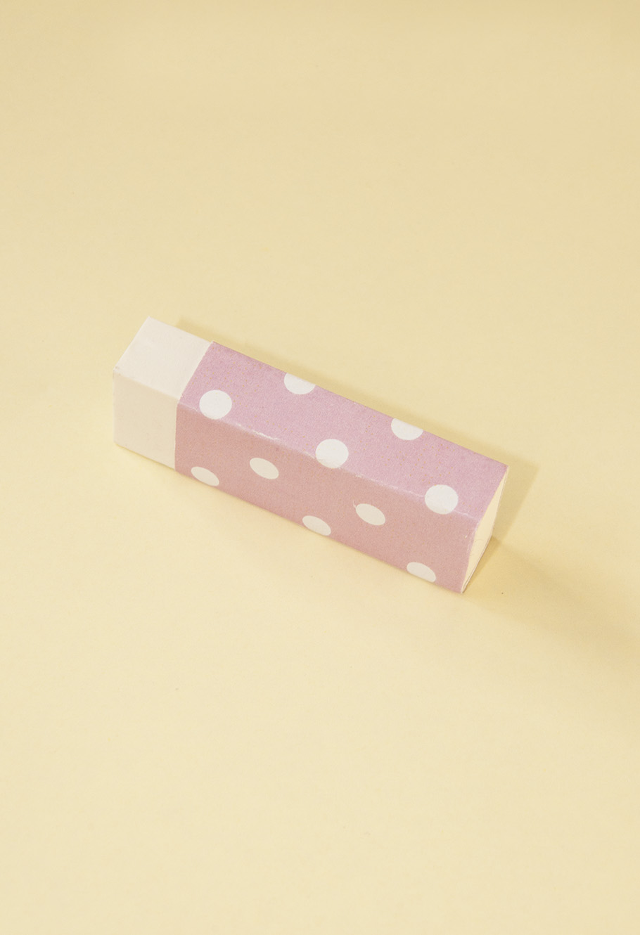 pink covering eraser